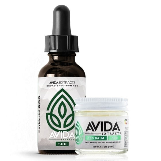 Broad Spectrum CBD Oil and Fast Relief CBD Balm Bundle
