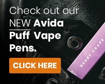 Checkout our new avida puff cbd vape pens